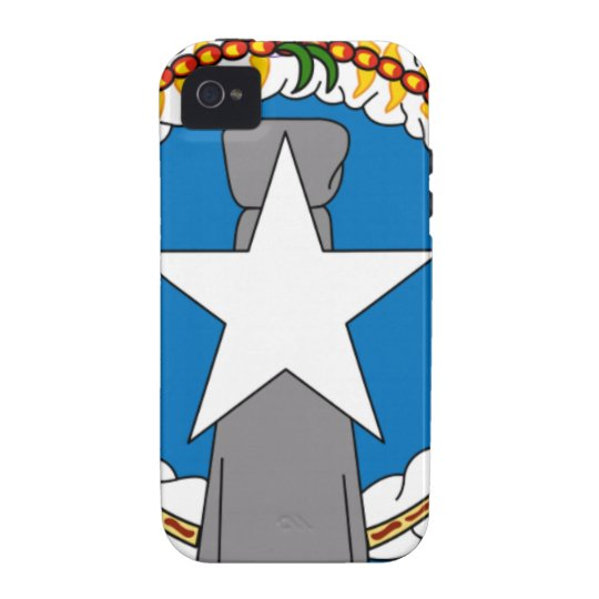 Flag Of Northern Mariana Islands (USA) iPhone 4/4S Cover
