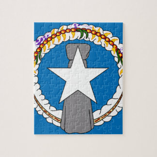 Flag Of Northern Mariana Islands (USA) Jigsaw Puzzle