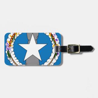 Flag Of Northern Mariana Islands (USA) Luggage Tag