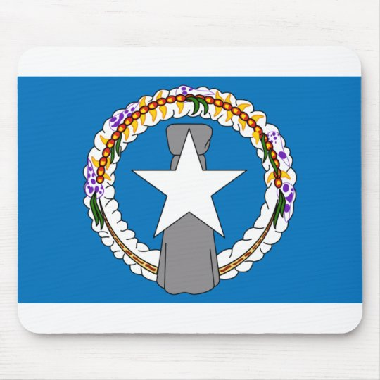 Flag Of Northern Mariana Islands (USA) Mouse Pad
