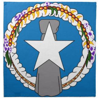 Flag Of Northern Mariana Islands (USA) Napkin