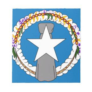 Flag Of Northern Mariana Islands (USA) Notepad