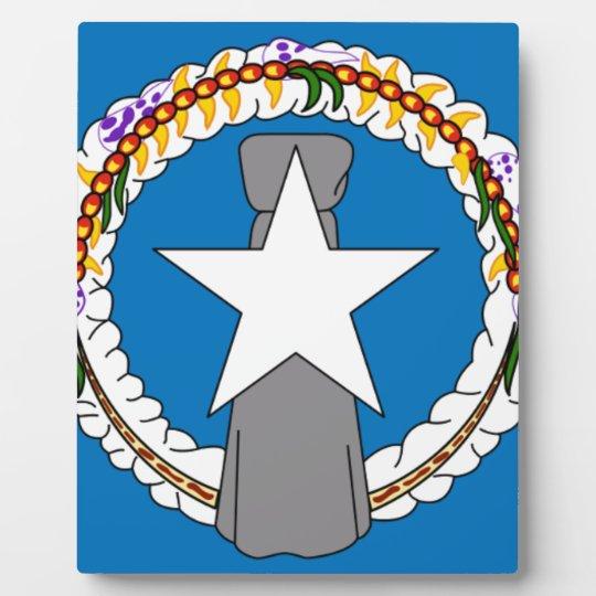 Flag Of Northern Mariana Islands (USA) Plaque