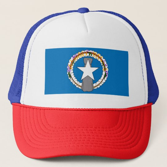 Flag Of Northern Mariana Islands (USA) Trucker Hat
