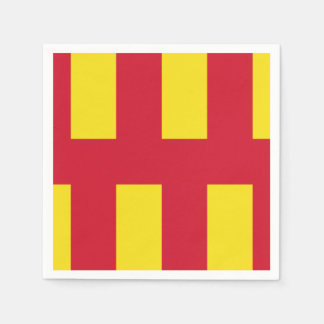 Flag of Northumberland Disposable Serviette