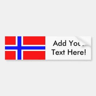 Flag of Norway Bumper Sticker