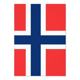 Flag of Norway Card