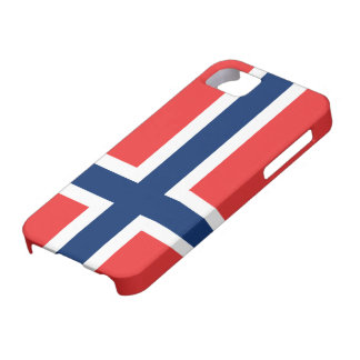 Flag of Norway iPhone 5 Case
