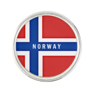 Flag of Norway Lapel Pin