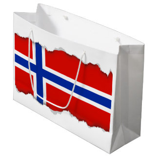 Flag of Norway Large Gift Bag