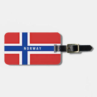 Flag of Norway Luggage Tag