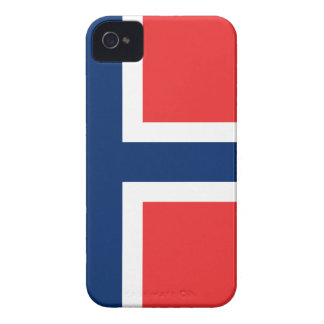 Flag of Norway - Norges flagg - Det norske flagget Case-Mate iPhone 4 Case