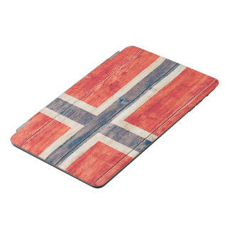 Flag of Norway on Wood iPad Mini Cover