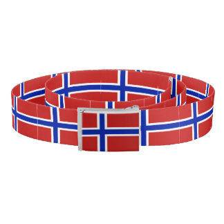 Flag of Norway Scandinavian Belt