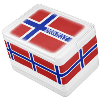 Flag of Norway Scandinavian Cooler
