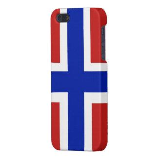 Flag of Norway Scandinavian iPhone 5/5S Cover