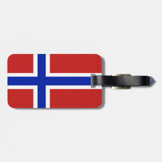 Flag of Norway Scandinavian Luggage Tag