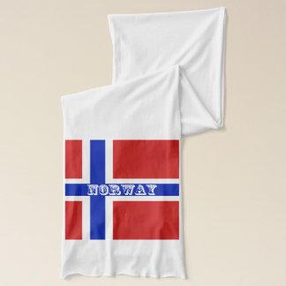 Flag of Norway Scandinavian Scarf