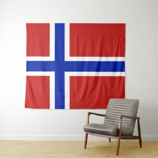 Flag of Norway Scandinavian Tapestry