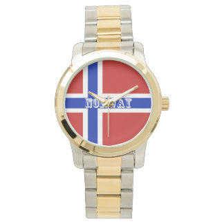 Flag of Norway Scandinavian Watch