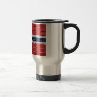 Flag of Norway Stainless Steel Travel Mug