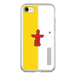 Flag of Nunavut Silver iPhone Case