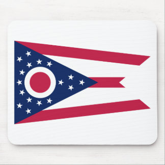 Flag Of Ohio Mouse Pad