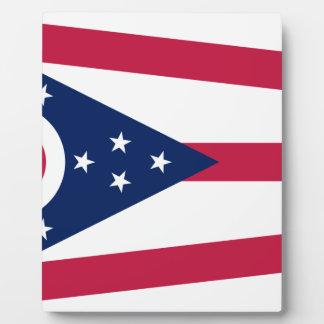 Flag Of Ohio Plaque
