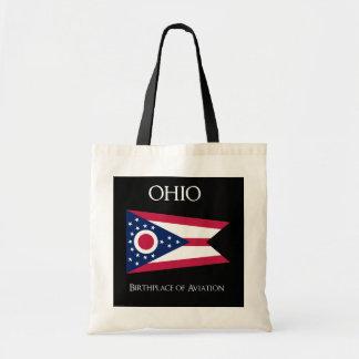 Flag of Ohio - United States - Ohioan Flag Tote Bag