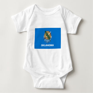 Flag Of Oklahoma Baby Bodysuit