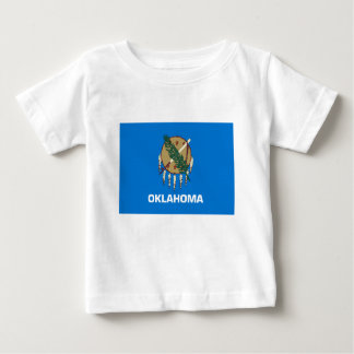 Flag Of Oklahoma Baby T-Shirt