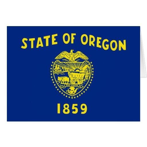 Flag of Oregon Greeting Cards