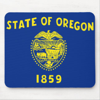Flag of Oregon Mouse Pad