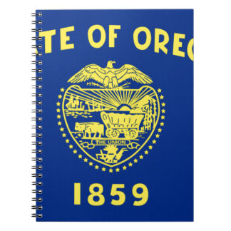 Flag Of Oregon Notebooks