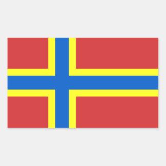 Flag of Orkney Rectangular Sticker