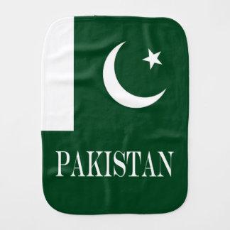 Flag of Pakistan Burp Cloth
