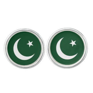 Flag of Pakistan Cuff Links