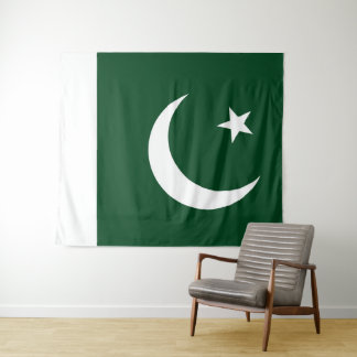 Flag of Pakistan Tapestry
