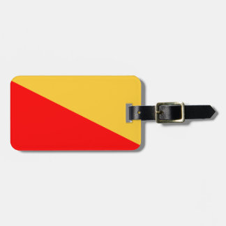Flag of Palermo Luggage Tag