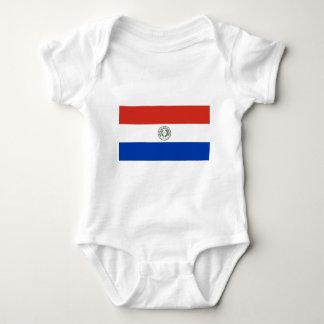 Flag of Paraguay - Bandera de Paraguay Baby Bodysuit
