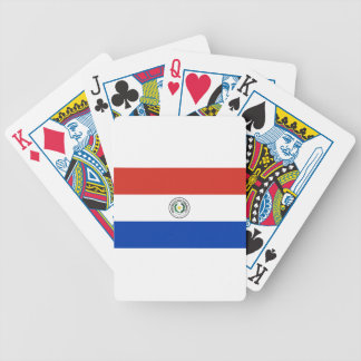 Flag of Paraguay - Bandera de Paraguay Bicycle Playing Cards