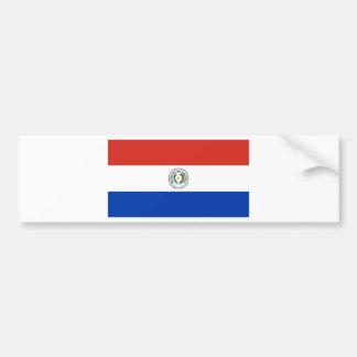 Flag of Paraguay - Bandera de Paraguay Bumper Sticker