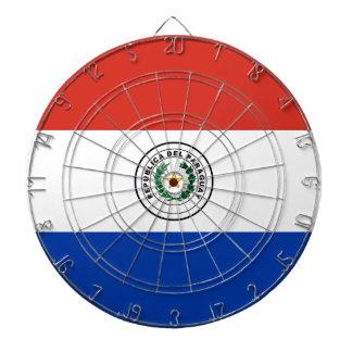Flag of Paraguay - Bandera de Paraguay Dartboard