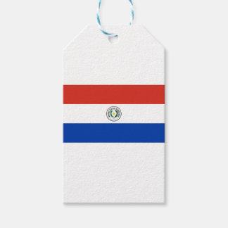Flag of Paraguay - Bandera de Paraguay Gift Tags