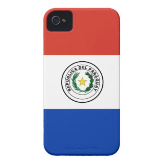 Flag of Paraguay - Bandera de Paraguay iPhone 4 Cover