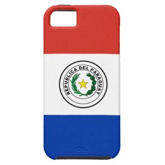 Flag of Paraguay - Bandera de Paraguay Tough iPhone 5 Case