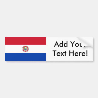 Flag of Paraguay Bumper Sticker