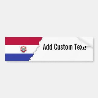 Flag of Paraguay Bumper Sticker