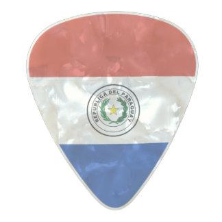 Flag of Paraguay Guitar Picks
