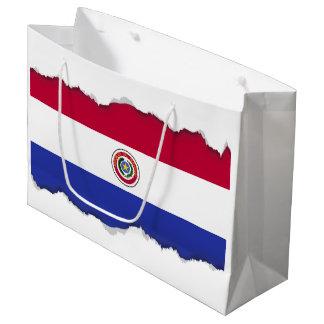 Flag of Paraguay Large Gift Bag